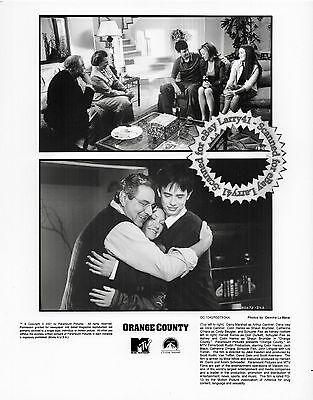 Lot of 5, Colin Hanks Jack Black Schuyler Fisk stills ORANGE COUNTY (2002) MINT