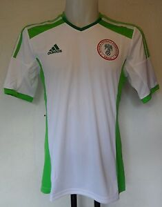 NIGERIA 2014/15 S/S AWAY SHIRT BY ADIDAS ADULTS SIZE XL BRAND NEW WITH TAGS