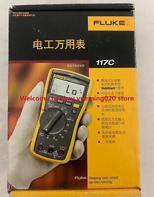 Ship Dhl Fluke 117c True Rms Multimeter Fluke117c