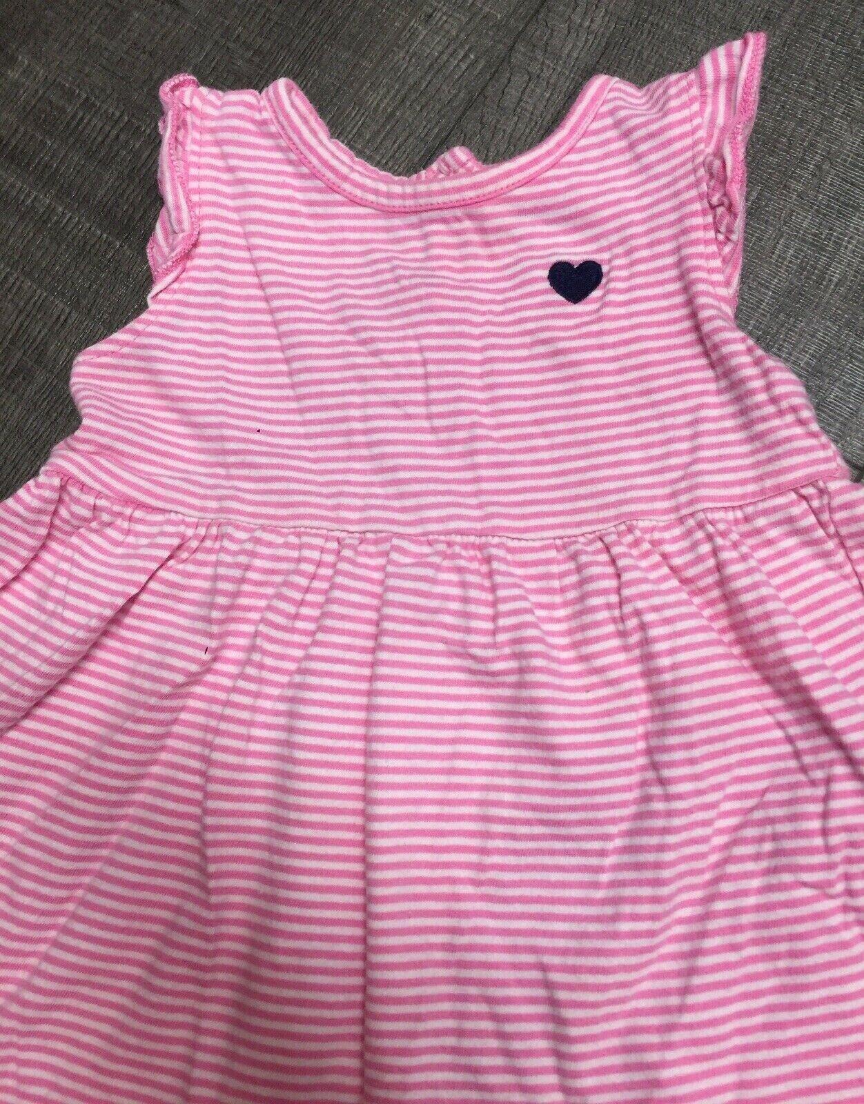Baby Girls Summer Dress Top Trousers /& Matching Headband Summer Outfit Set 0-3 3-6 6-9 Months 7255