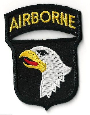 - 101st AIRBORNE / EAGLE - IRON or SEW ON PATCH