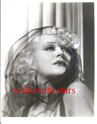 Vintage Marion Martin GORGEOUS GLAMOUR HAT FASHION '30s DBW Publicity Portrait