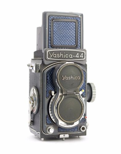 Yashica 44 Replacement Cover - Laser Cut Recycled Leather - Culebra
