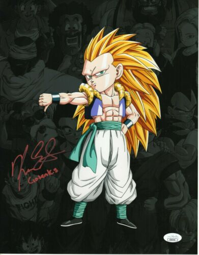 "Kara Edwards Autograph Signed 11x14 Photo - Dragon Ball Z ""Gotenks"" (JSA COA)"