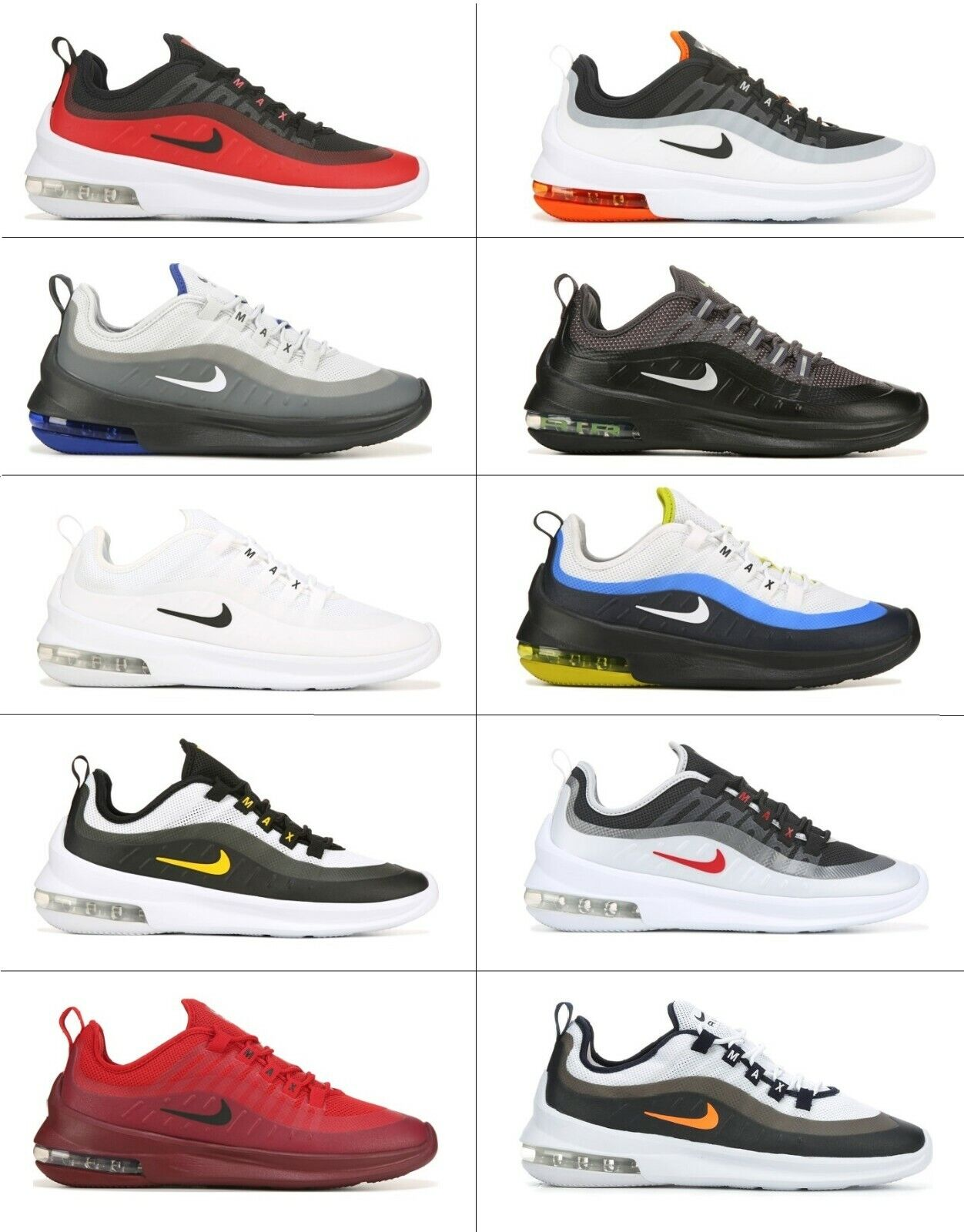 Nike Air Max AXIS Low Mens Running Shoes Sneakers Cross Trainers Gym NIB