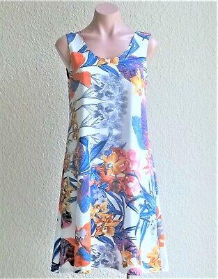 NEW Slinky Travel Short Zebra Tank Dress / Cover Up -Stretch, NO WRINKLE -Size S Zebra Tank Kleid