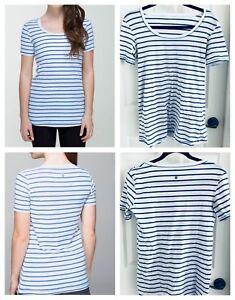 Lululemon Tee size 8 - striped