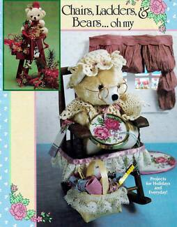 VINTAGE CHAIRS LADDERS & BEARS CRAFT BOOKLET