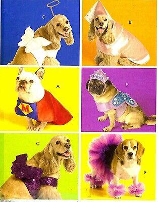 Superman Costume Pattern (WOW! PET DOGS SUPERMAN PRINCESS TUTU ANGEL COSTUME SEWING PATTERN McCalls)