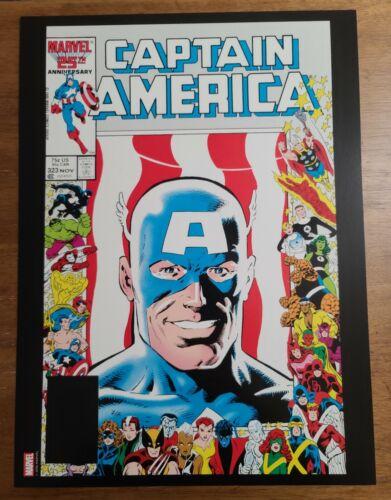 Captain America 323 Super Patriot John Walker Marvel Comics Poster by Mike Zeck