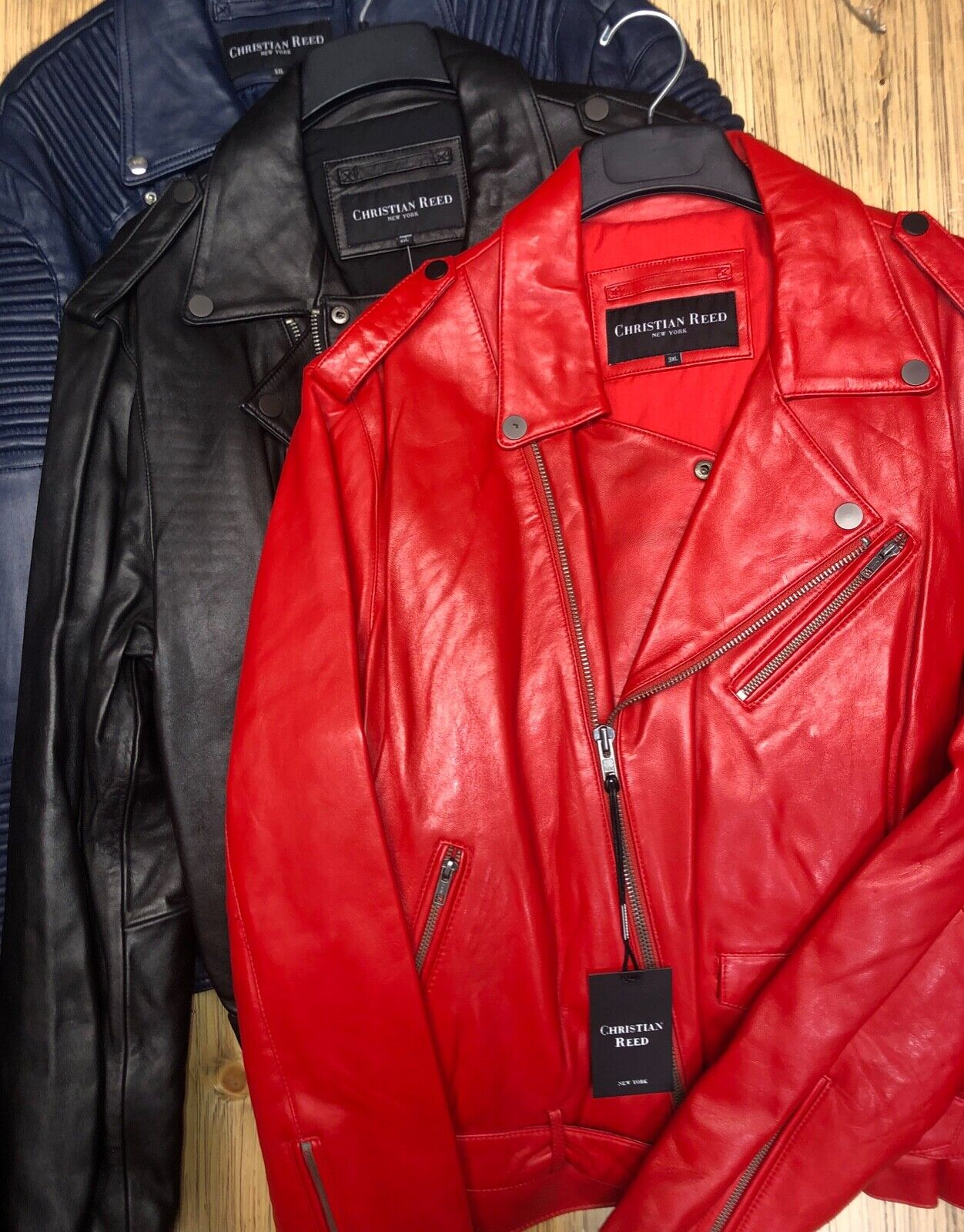 Christian Reed Leather Jackets Various Styles/Colors/Sizes N