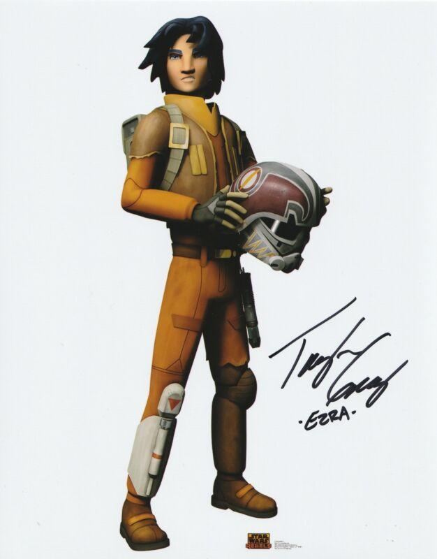 Taylor Gray Autograph 8x10 Photo Star Wars Ezra Bridger Signed Zobie COA