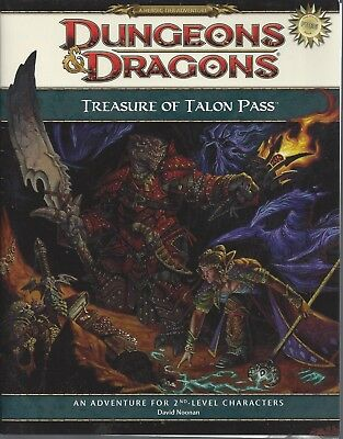 Free Dungeons And Dragons Rpg - Dungeons & Dragons RPG  Treasure of talon Pass FREE RPG 2008 Ed.  30 pg.