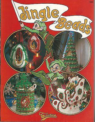 Jingle Beads Vintage Beading Dorothy English Instruction Patterns NEW OOP