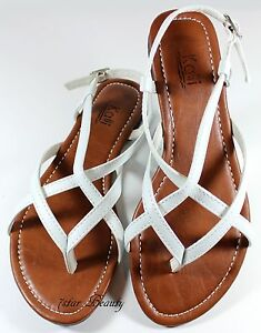 New Women Gladiator Flat Sandal T-strap Thong Flip Flops Style Shoes 7-11 Size
