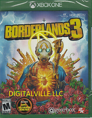Borderlands 3 Xbox One Brand New Factory Sealed