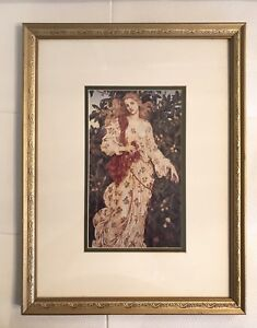 Classic Victorian ancient gold frame- Tableau Or