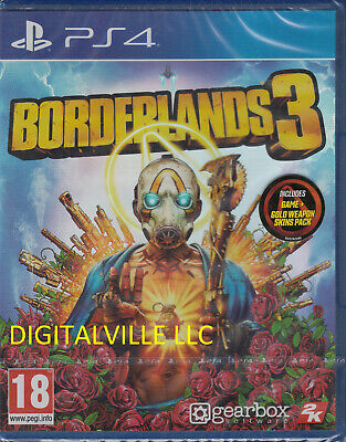 Borderlands 3 PS4 Brand New Factory Sealed PlayStation 4