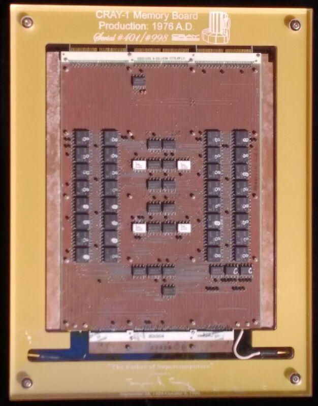 Cray-1 SuperComputer Memory Board