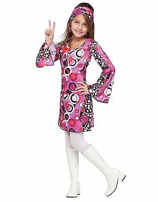 Feelin' Groovy 60's 60s Mod Disco Retro Child Costume