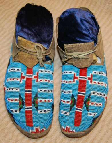 Vintage Sioux Beaded Men