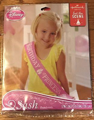 Disney Princess Birthday Sash Birthday Party - Sash Birthday