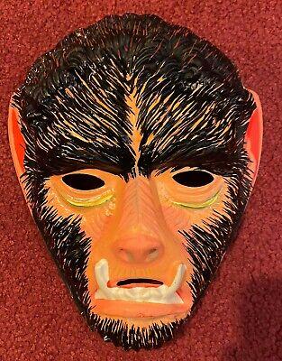 Vintage Unused 29-Cent Wolfman Collegeville / Ben Cooper Halloween Costume Mask