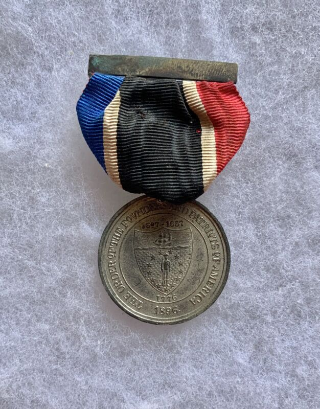 Antique Order Of Founders & Patriots Of America Medal