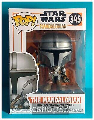 Funko Pop! The Mandalorian #345 • Standing w/ Amban Rifle, Season 1 • Star Wars