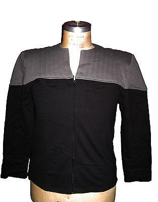 Uniform DS9 Movie Star Trek - S - BW - Jacke  First Contact Kostüm.