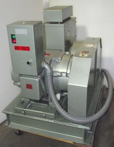 15kw 60 Hz to 50 Hz Frequency Converter / No Brush Georator  / 25hp / 6 mo. Wrty