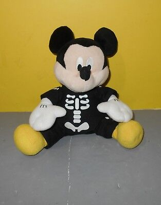 Mickey Mouse In Skeleton Costume - Dancing Musical Halloween Disney 9