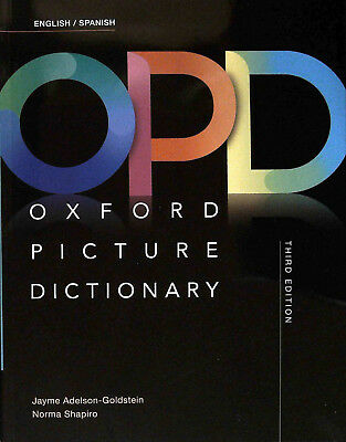 Oxford PICTURE DICTIONARY Third Edition 2017 ENGLISH/SPANISH @NEW@ ()