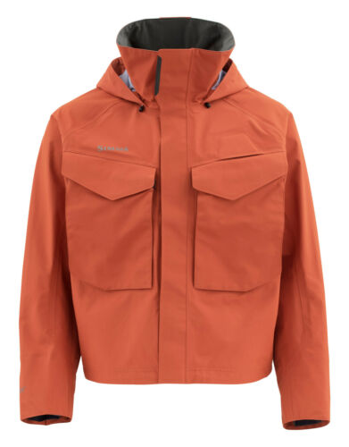 New with tags Simms Guide GORE-TEX Jacket Simms Orange M and XXL MSRP $ 380