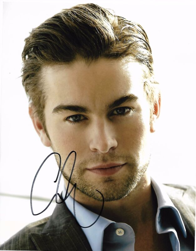 Chace Crawford Autographed Signed 8x10 Photo COA #1