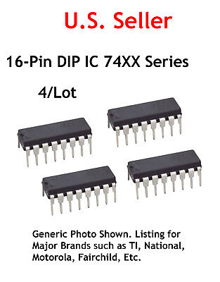 LOT OF 3 DM74191N IC COUNTER UP DOWN 4 BIT BINARY 16-PIN DIP