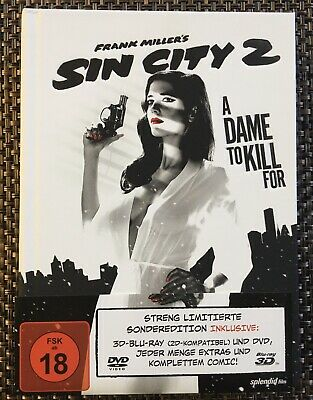 Sin City: A Dame To Kill For 3D/2D Blu-Ray Limited Mediabook Eva Green