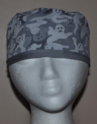 Halloween Ghosts Men's Scrub Cap/Hat -One Size Fits Most](Halloween Scrubs For Men)