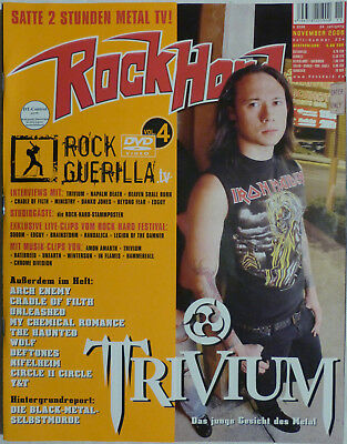 """Rock Hard"", Nr. 234, 11/2006 - Trivium, Arch Enemy, Cradle Of Filth + CD"
