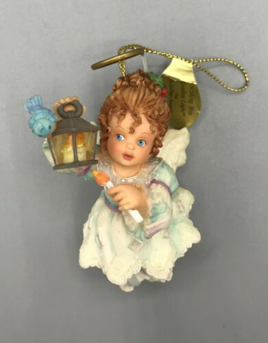 Holly Day Angel Heirloom Ornament - Wishing You A Guiding Light