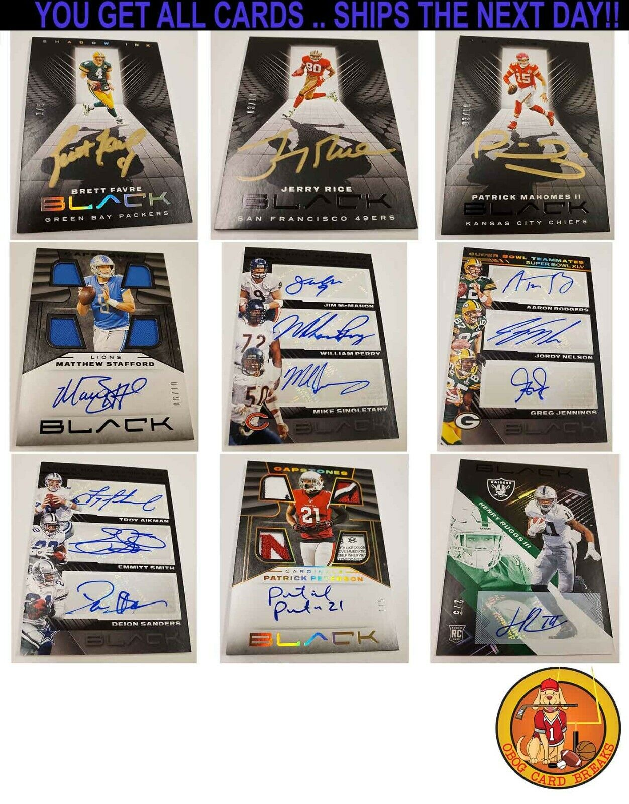 DALLAS COWBOYS 2020 PANINI BLACK FOOTBALL 1/3 4 BOXES CASE BREAK 4 - $78.00