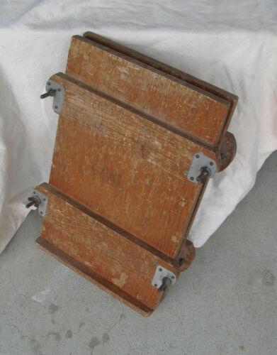 Large Wooden Book Press - Flower Press - Photo Press