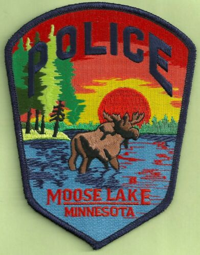 MOOSE LAKE MINNESOTA POLICE SHOULDER PATCH