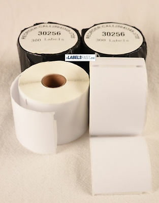 30256 White Large Shipping Labels 2-516 X 4 - Compatible With Dymo