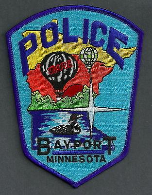 BAYPORT MINNESOTA POLICE PATCH