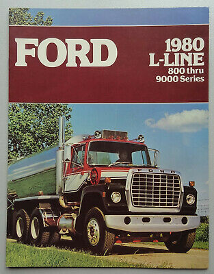 V16335 FORD L-LINE 800 - 9000 - CATALOGUE - 1980 - 21x28 - CANADA GB
