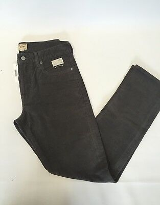 NWT JCrew 770 Straight-fit pant in corduroy Dusty Charcoal Grey Size 29/32 G7137