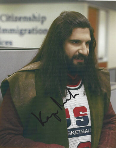 KAYVAN NOVAK SIGNED WHAT WE DO IN THE SHADOWS 8x10 PHOTO 3 w/COA TV SHOW ACTOR