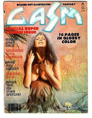 Gasm #4 - Special Super Corben Issue!  MATURE READERS