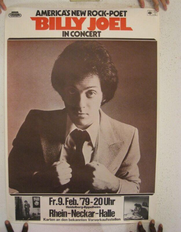 Billy Joel Poster Tour German February 9 1979